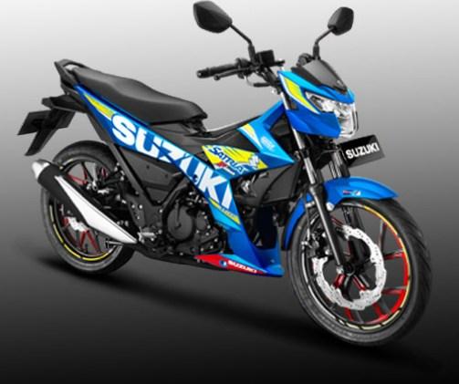 All New Satria F150 FI warna Macho Bright Blue