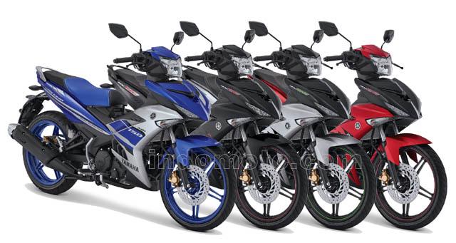 Warna dan stripping baru Yamaha MX King 150