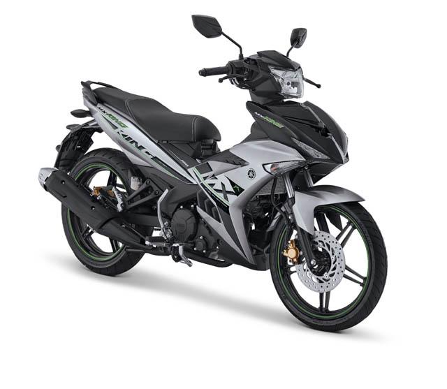 Yamaha MX King warna Speedy Silver