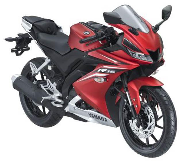 Yamaha All New R15 VVA 155 warna Matte Red