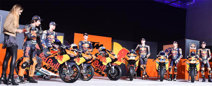 launching team red bull ktm motogp 2017