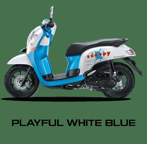 Harga honda scoopy terbaru 2017 tersedia 8 pilihan warna honda scoopy warna playful white blue altavistaventures Choice Image