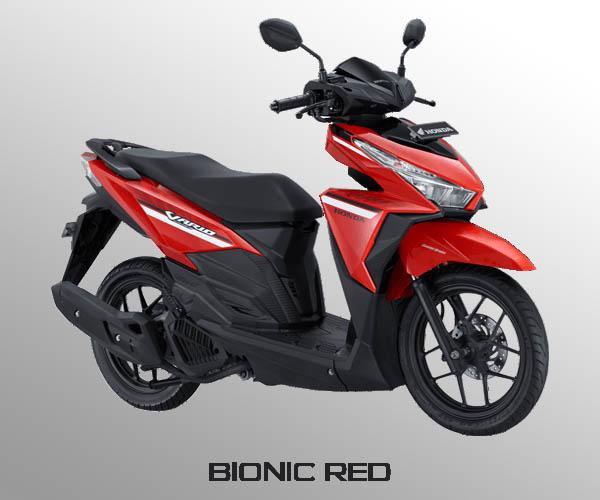 Honda Vario 125 warna Bionic Red