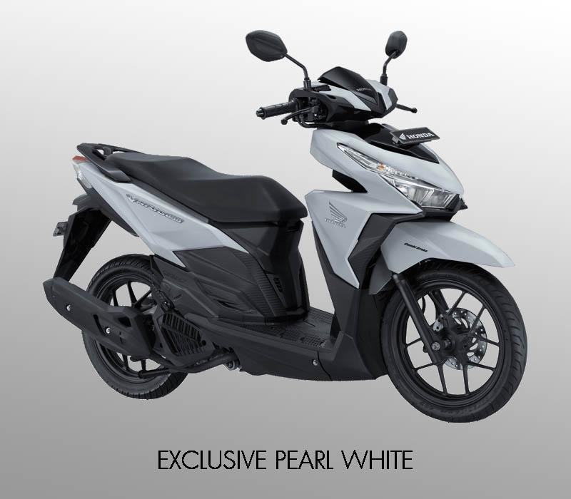 Honda Vario 150 eSP warna Exclusive Pearl White