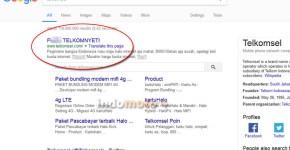 Situs Telkomsel kena hack