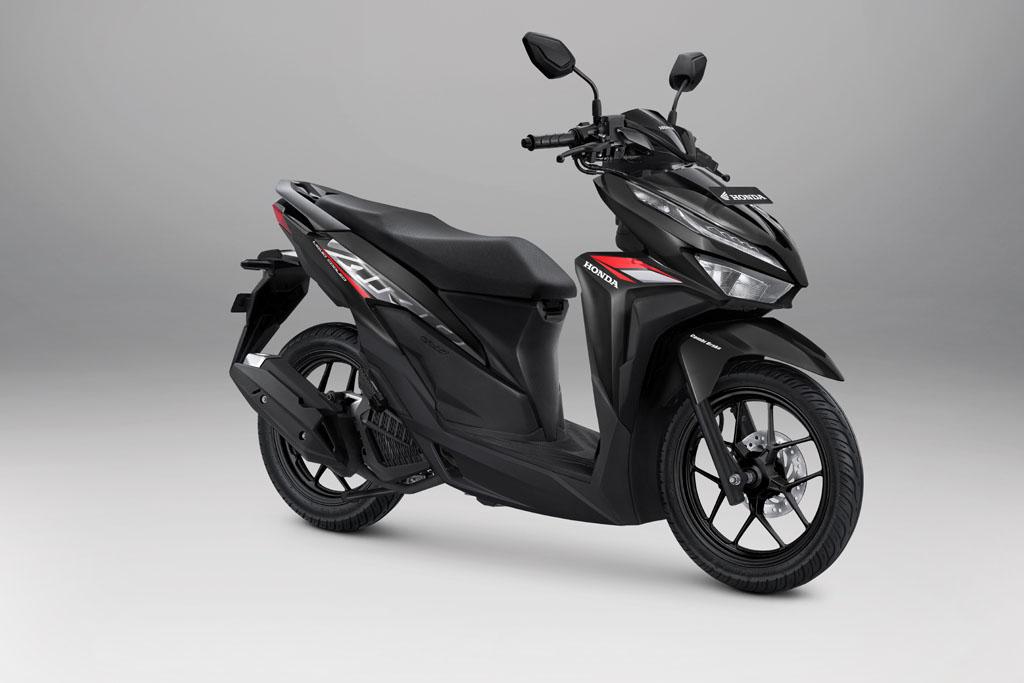 Honda Vario 125 Warna Advance Black