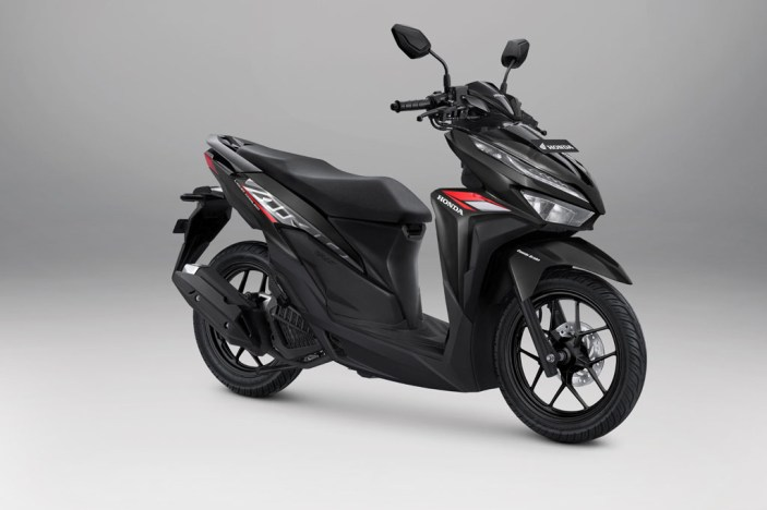 Honda Vario 125 Warna Advance Black