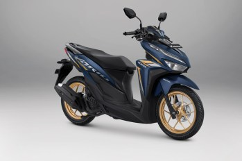 Honda Vario 125 Warna Advance Matte Blue