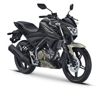 Yamaha All New Vixion warna Matte Black