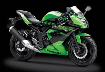 Kawasaki Ninja 250SL warna Green