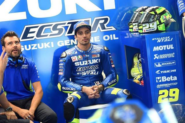 Suzuki Ecstar kecewa dengan Iannone