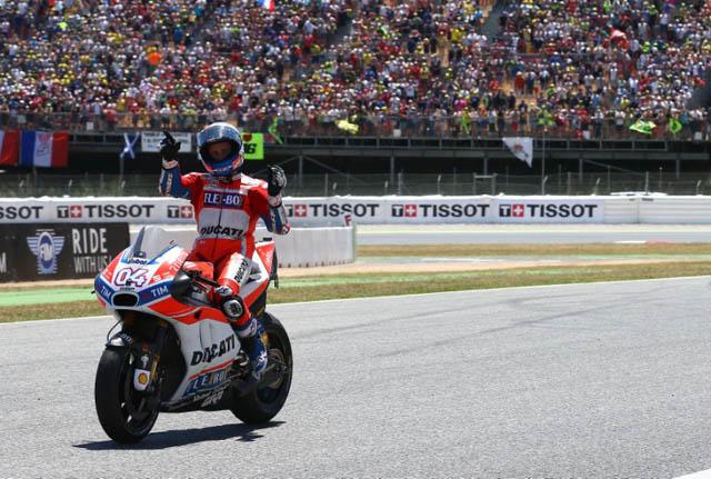 juara MotoGP Catalunya, Andrea Dovizioso
