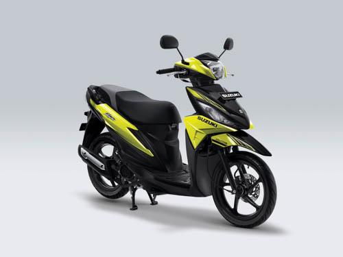 Suzuki Address Playful warna Fresh Green