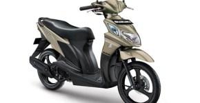 Suzuki Nex warna matt titanium silver
