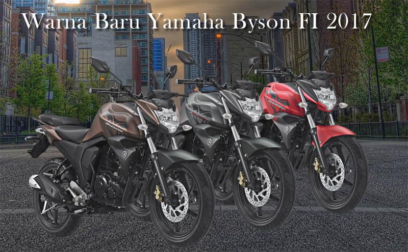 Update warna baru yamaha byson 2017