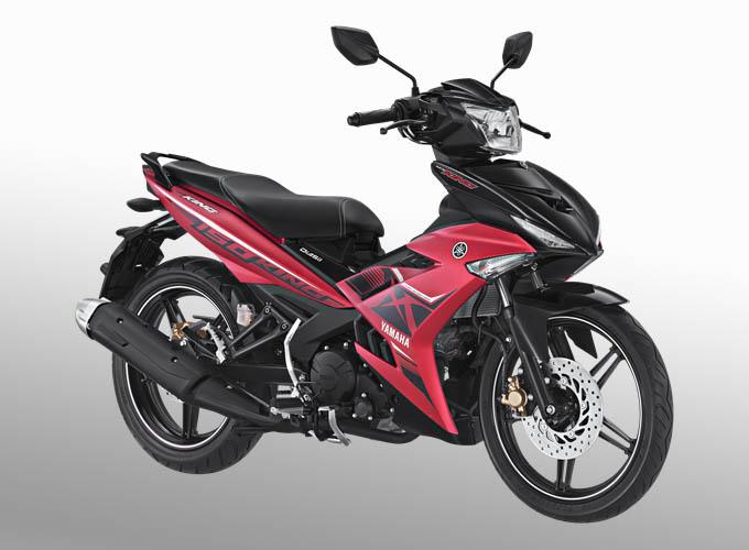 Yamaha MX King warna matte red (merah)