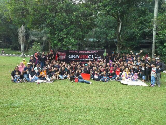 Halal bi halal Grand Livina Club Indonesia
