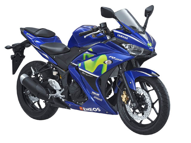 Yamaha All New R25 warna Movistar MotoGP
