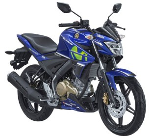 Yamaha All New Vixion warna Movistar MotoGP
