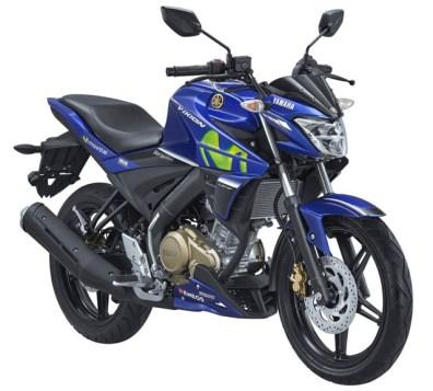 Yamaha All New Vixion warna Movistar MotoGP