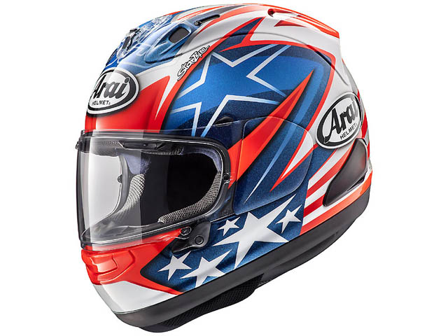 Helm Arai replika Nicky Hayden