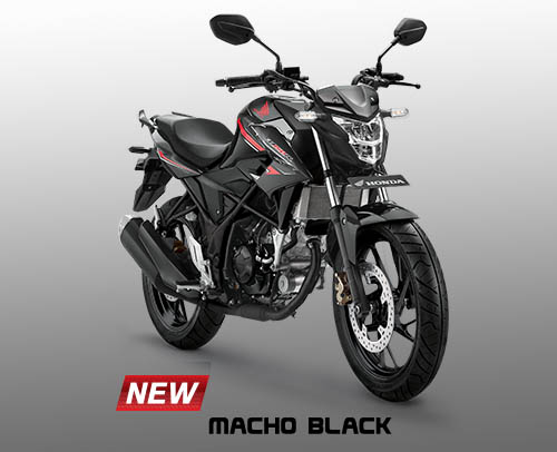 Honda CB150R warna Macho Black
