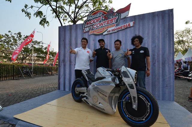 Honda Modif Contest - HMC 2017 seri Jakarta