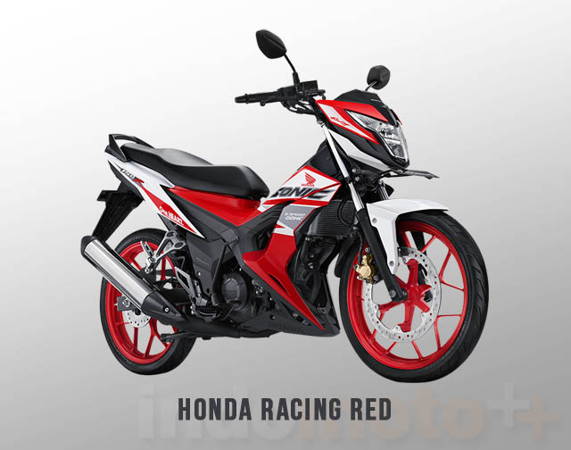 Honda Sonic 150R Warna Racing Red (Merah)