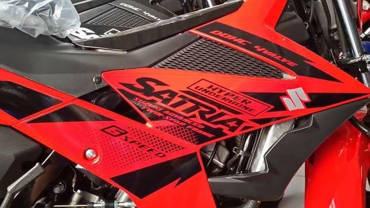 Suzuki Satria F150 warna baru