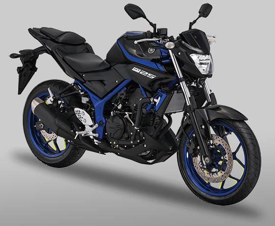 Yamaha MT25 warna Blue Metallic