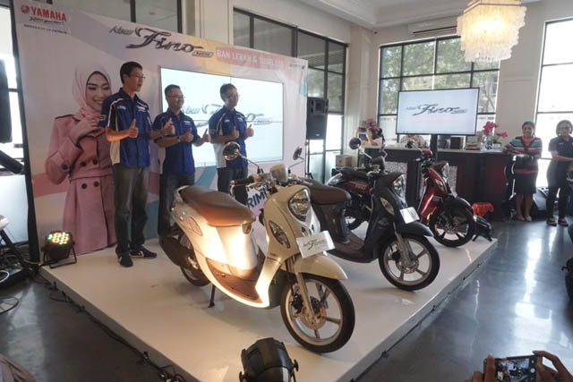 Launching Yamaha Fino 125 Versi 2018