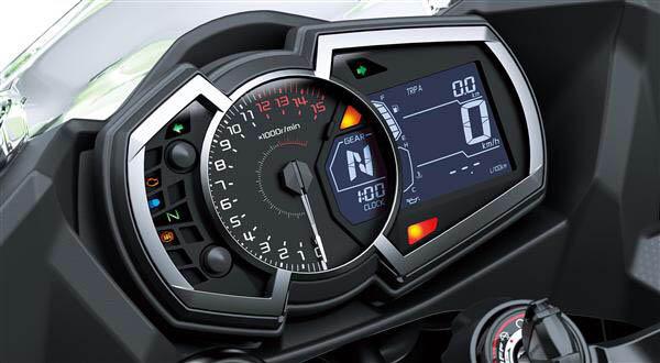 Speedometer Ninja 250 FI Versi 2018