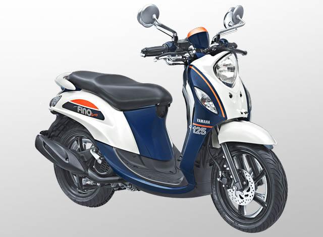 Yamaha Fino 125 Sporty Warna Jump White (Putih)