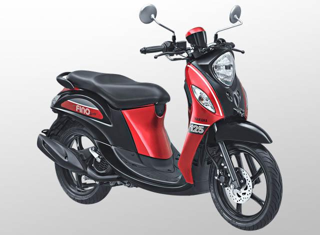 Yamaha Fino 125 Sporty Warna Sprint Red (Merah)