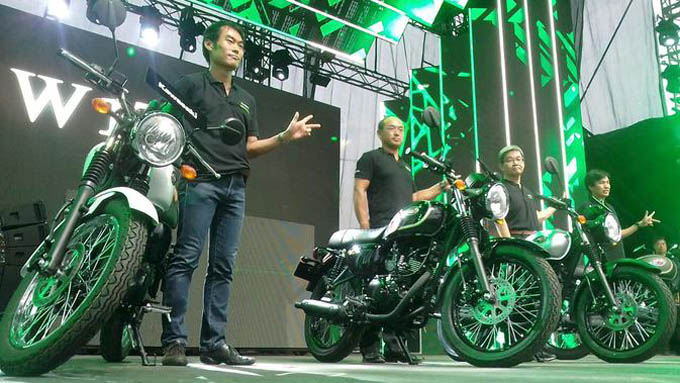 Launching Kawasaki W175