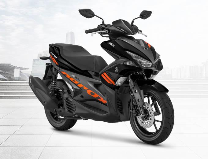 Yamaha Aerox 155 VVA Warna Hitam (Black)