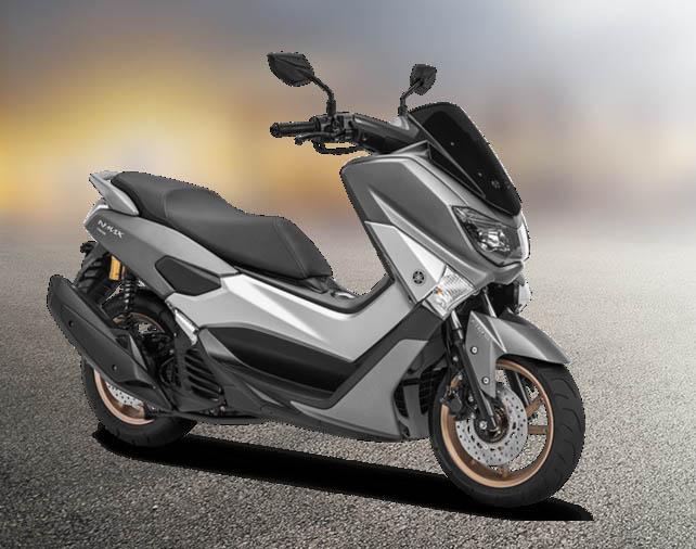 Yamaha NMAX 155 Warna Matte Grey