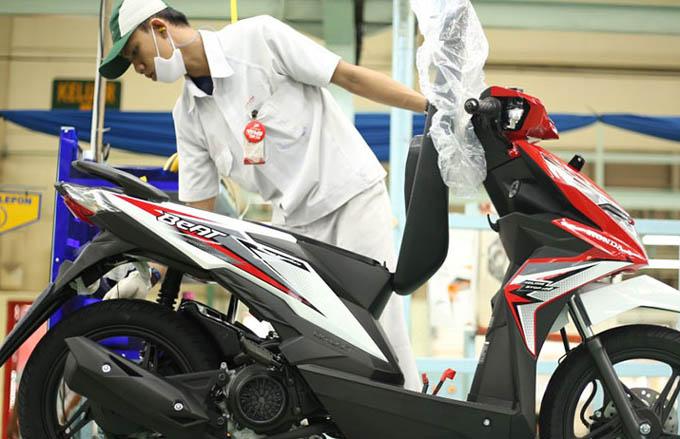 Honda Beat eSP 2018