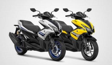 pilihan warna Yamaha Aerox S Version