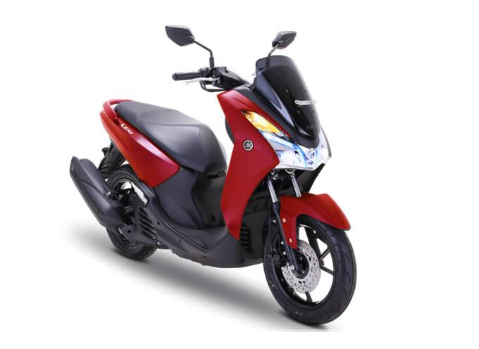 Yamaha Lexi Warna Matte Red (Merah)