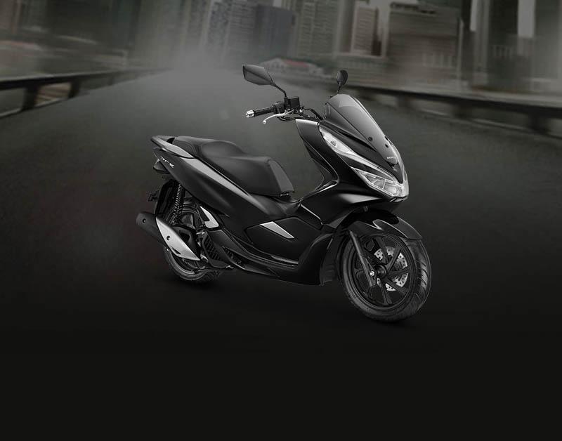 Honda PCX Warna Brilliant Black