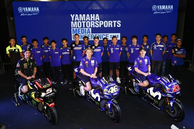 Pembalap Yamaha Racing Indonesia