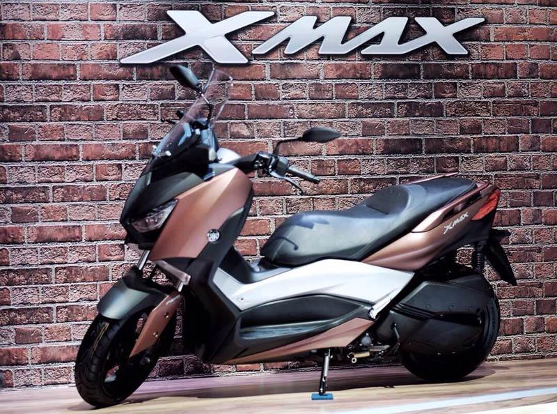 Yamaha XMAX warna Ultimate Bronze