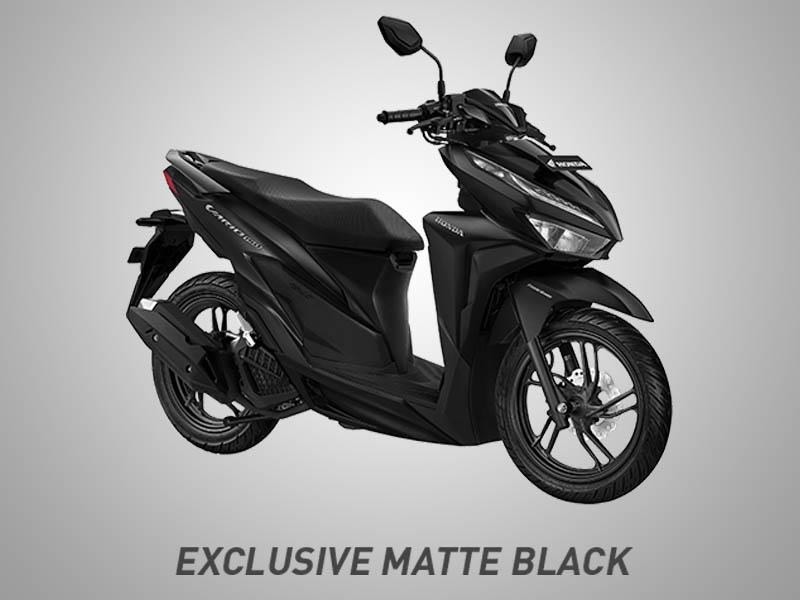 Honda Vario 150 eSP Warna Exclusive Matte Black