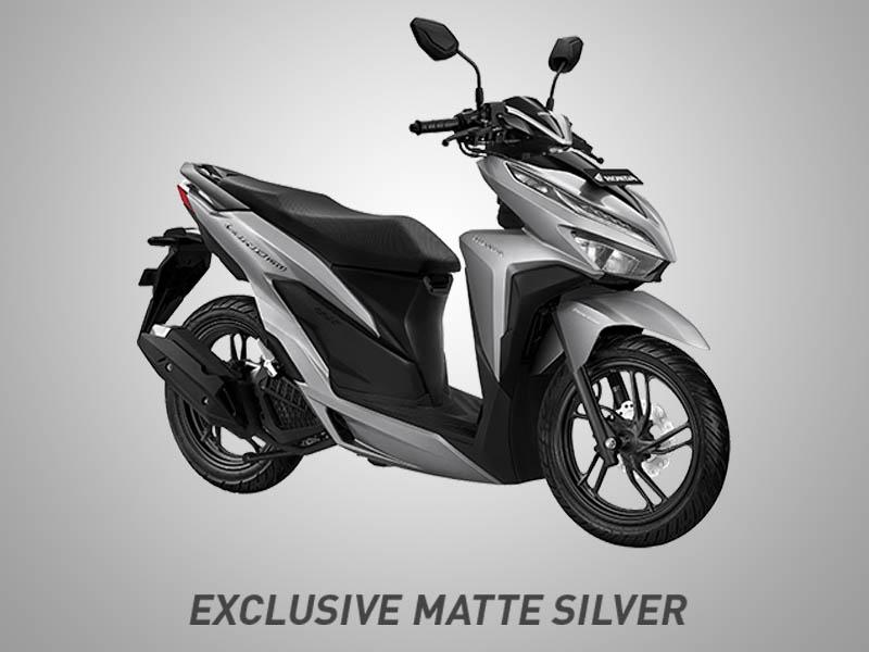 Honda Vario 150 eSP Warna Exclusive Matte Silver