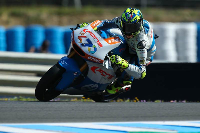 Lorenzo Baldassarri pole position Moto2 Thailand