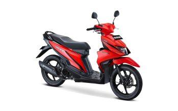 Suzuki Nex II Tipe Standard Warna Stronger Red