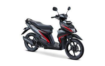 Suzuki Nex II Tipe Standard Warna Titan Black