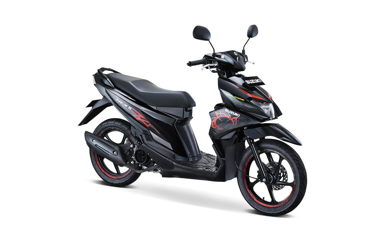 Suzuki Nex II Tipe Fancy Dynamic Warna Titan Black