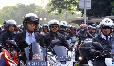 Riding Unik Ala Honda PCX Club Indonesia (HPCI)